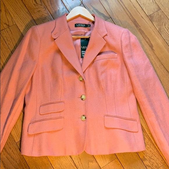 Ralph Lauren Jackets & Blazers - Ralph Lauren Linen/Silk Blazer NWT *HOST PICK*